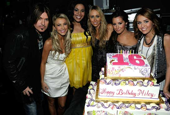 Miley Cyrus - Sweet 16 Birthday