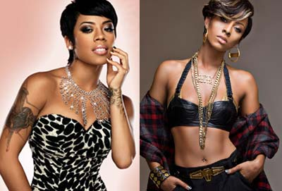 Keyshia Cole and Keri Hilson