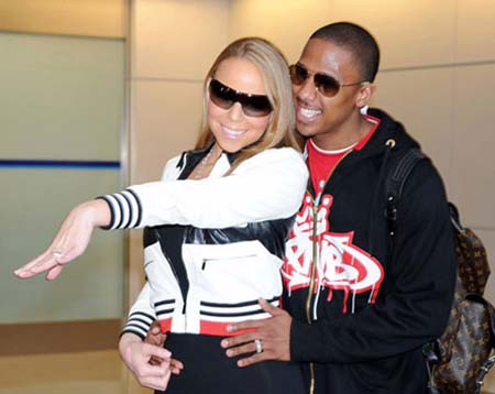 Mariah Carey and Nick Cannon in Japan