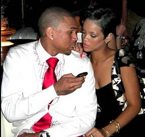 Photo of Rihanna and Chris Brown