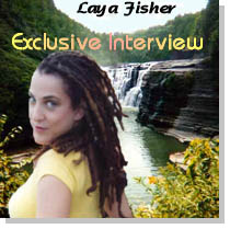 Singer Laya Fisher