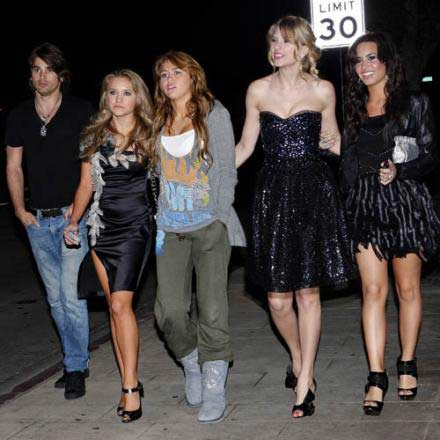Miley Cyrus - Hannah Montana Movie Afterparty