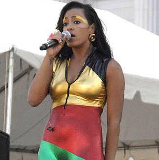 Solange Knowles Performing at San Francisco LGBT Pride Parade
