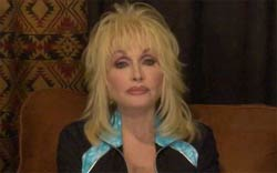 Dolly Parton makes tribute to Michael Jackson