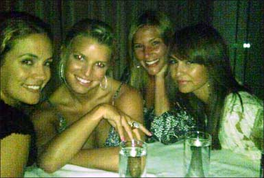 Photo of Jessica Simpson and Friends
