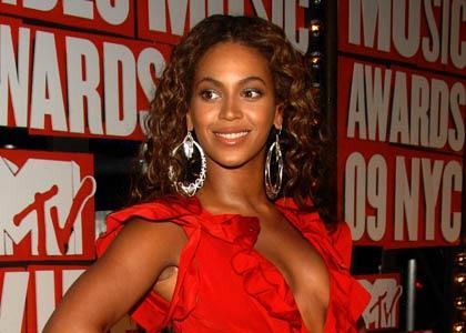 Photo of Beyonce at 2009 MTV VMA's