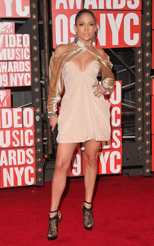 Photo of Jennifer Lopez at 2009 MTV VMA's