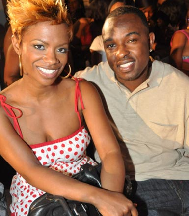 Photo of Kandi Burruss and ex-fiance A.J. Jewell