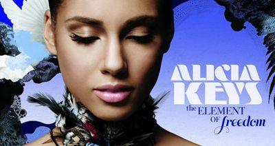 Alicia Keys Elements of Freedom album cover