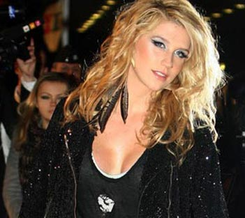 Photo of Ke$ha at the NRJ Music Awards 2010 France