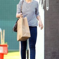 Mandy Moore out shopping in Hollywood
