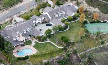 Photo of jennifer lopez and marc anthony hidden hills for Jennifer lopez house address