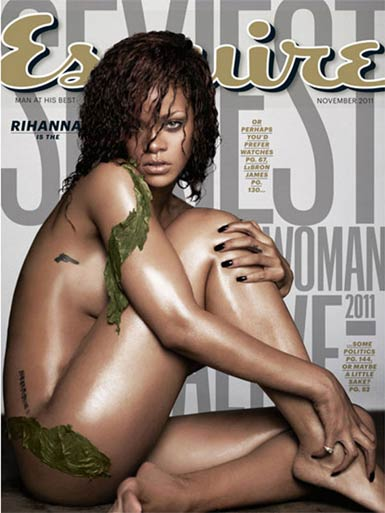 Photo - Rihanna Reveals Skin Cover of Esquire