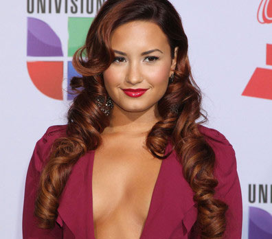 Photo of Demi Lovato  at Latin Grammys
