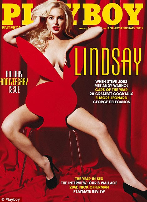 Photo of Lindsay Lohan Playboy Cover