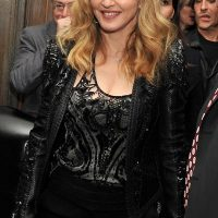 Photo of Madonna on the red carpet for her Film W.E. in New York