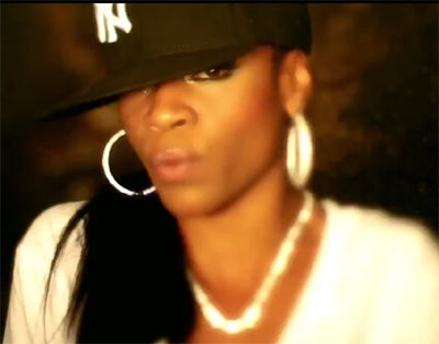Photo of female rapper Paris signed to G-Unit