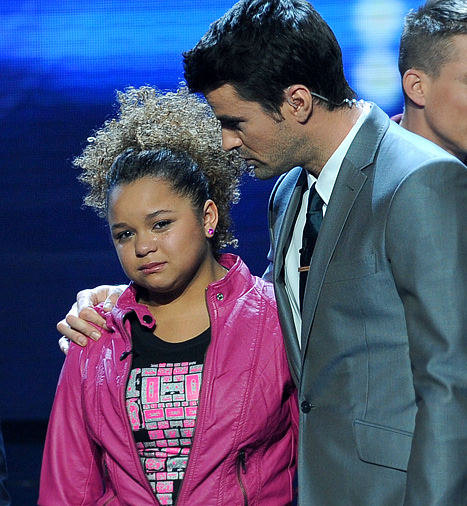 Rachel Crow on X Factor