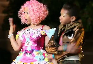 Picture of Willow and Nicki Minaj - Fireball Music Video