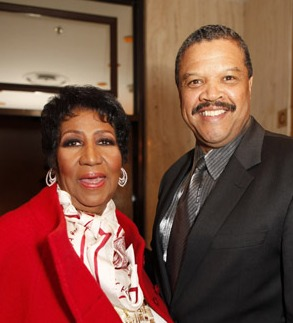 Photo of Aretha Franklin and fiance William &#039;Willie&#039; Wilkerson