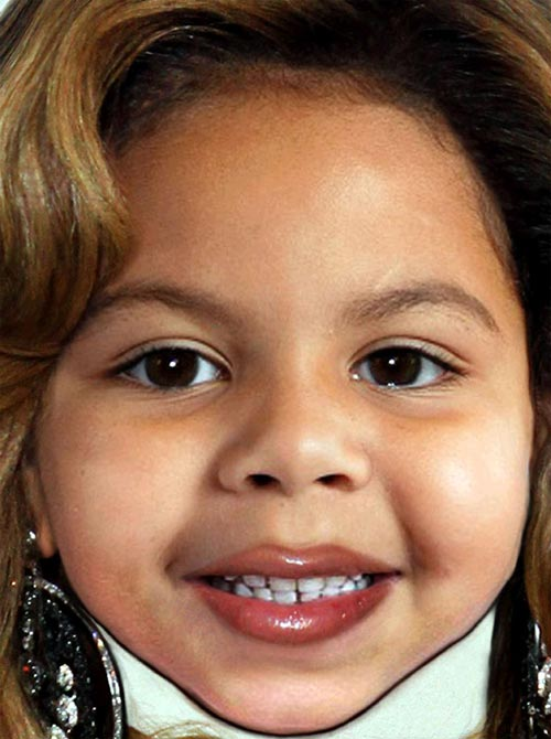 Photo of Beyonce Daughter Blue Ivy Carter