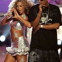 Jay-z, Beyonce and illuminati photo?