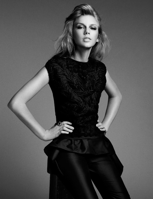 Picture of Taylor Swift – April Issue of Harper's Bazaar Australia Magazine
