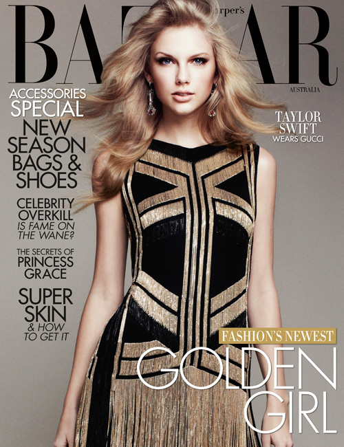 Photo of Taylor Swift – April Issue of Harper's Bazaar Australia Magazine
