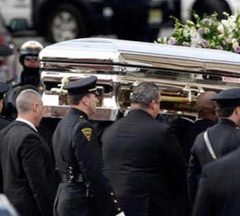 Photo of Whitney Houston Casket