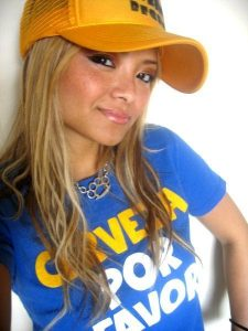 Picture of reality star, model Tila Tequila