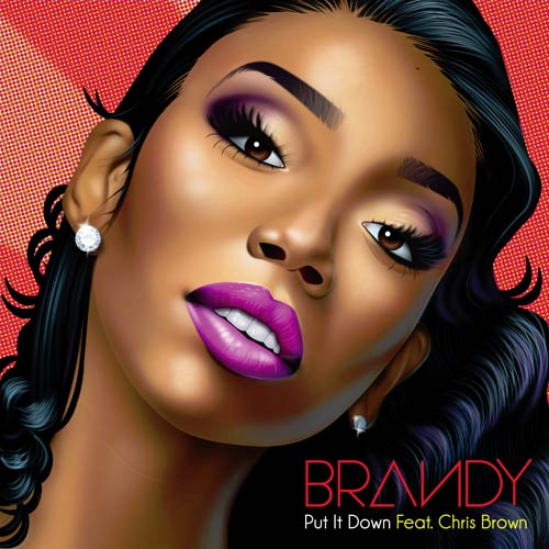 Photo - Brandy ft Chris Brown - Put It Down music single