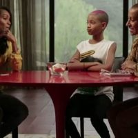Picture - Jada Pinkett-Smith, Willow Smith and mother Adrienne Banfield-Jones