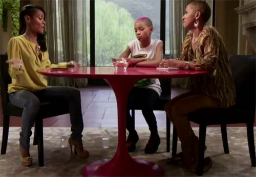 Photo – Jada Pinkett-Smith, Willow Smith and mother Adrienne Banfield-Jones