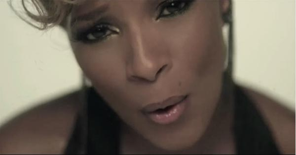 Photo - Mary J Blige - Don't Mind Music Video