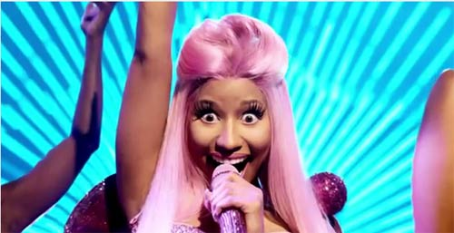 Photo - Nicki Minaj Pepsi Commerical