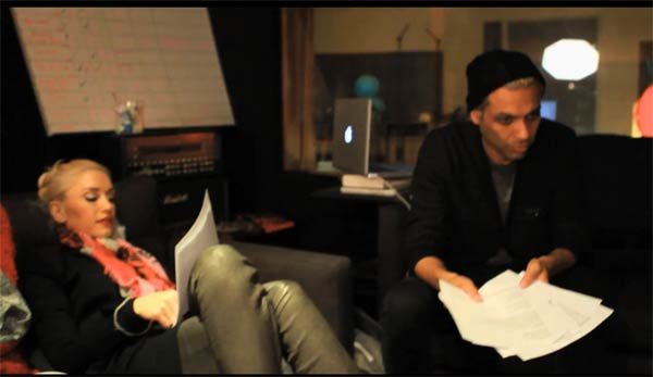 Photo - No Doubt In Studio Recording Push and Shove - Webisode