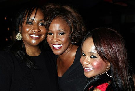 Photo - Patricia Houston, Whitney Houston and Bobbi Kristina