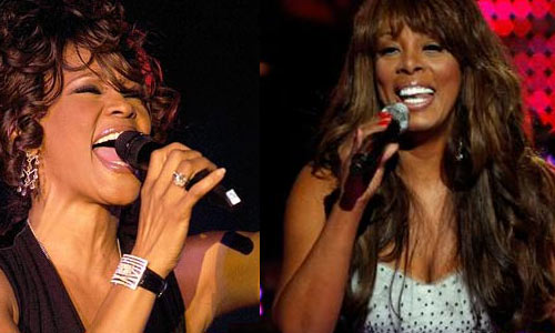 Photo - Whitney Houston and Donna Summer