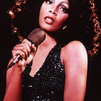 Photo - singer Donna Summer 1975