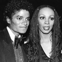 Photo - Donna Summers and Michael Jackson 1982