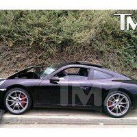 Photo - Lindsay Lohan Wrecks Porsche In Car Accident