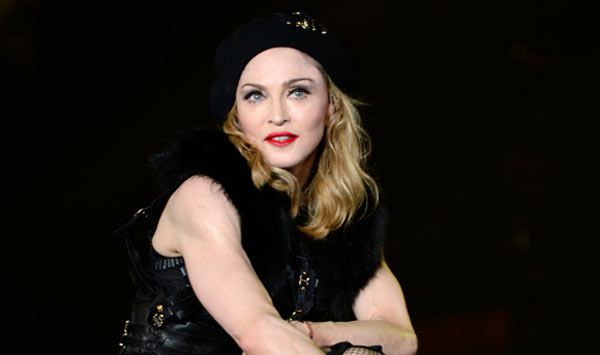 Photo - Madonna performing during opening of MDNA tour