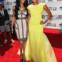 2012 BET Awards - Photo Michelle Williams and Letoya Luckett Red Carpet
