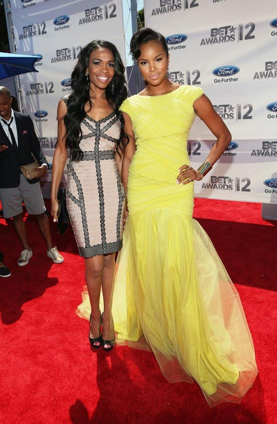 2012 BET Awards – Photo Michelle Williams and Letoya Luckett Red Carpet