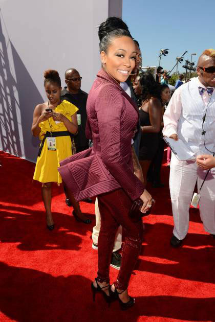 2012 BET Awards – Photo singer Monica on the red carpet