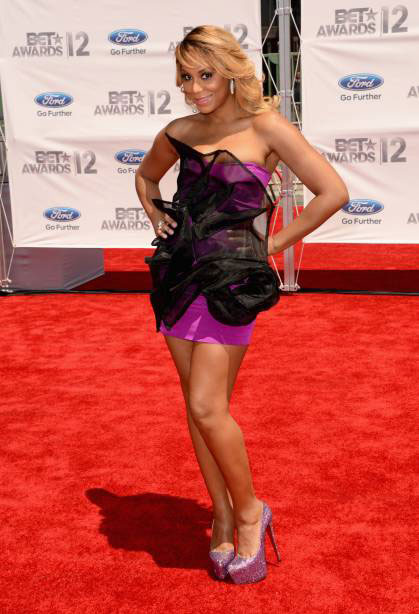 2012 BET Awards – Photo Tamar Braxton on the Red Carpet