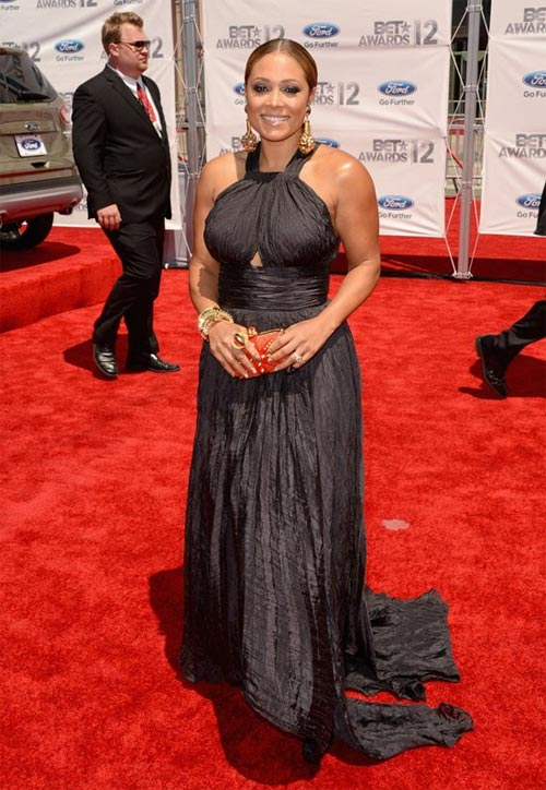 2012 BET Awards – Photo Tamia on the Red Carpet