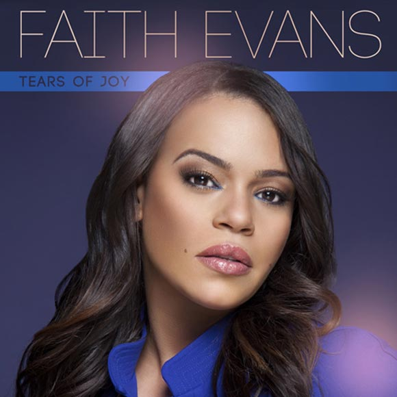 Faith Evans music single cover for Tears of Joy