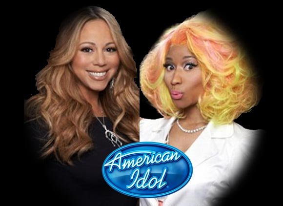 Photo - Mariah Carey and Nicki Minaj
