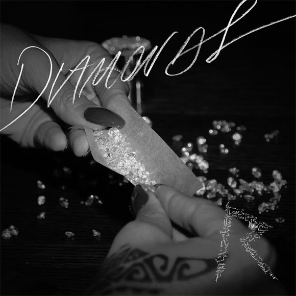 Photo - Rihanna Diamonds single cover art